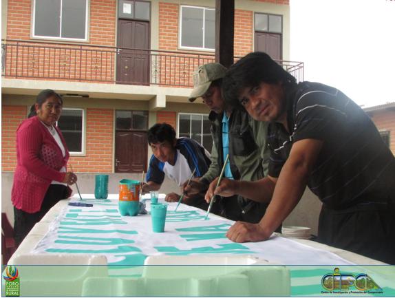 Campaña por el SI en Macharetí